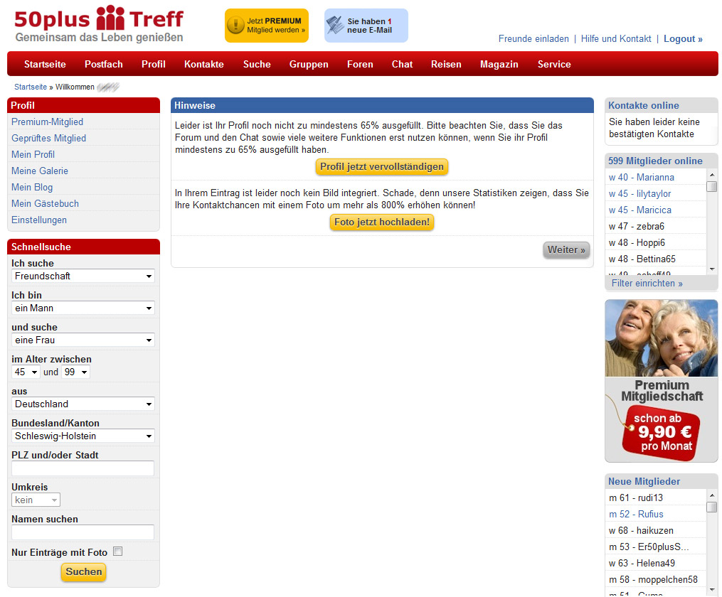 kostenlose dating portal Mettmann