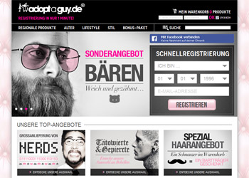AdoptAGuy.de - Startseite