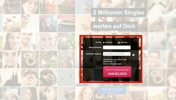 Kostenlose Anmeldung bei Single.de