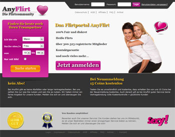 zur AnyFlirt.de - Startseite