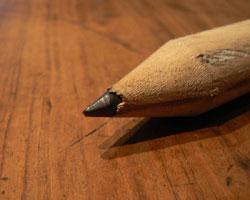 Gedanken schriftlich festhalten