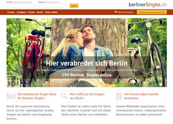 Regionale Singlebörse - hier geht es zu berlinerSingles.de