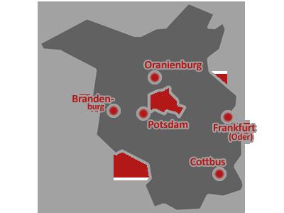 Das Bundesland Brandenburg