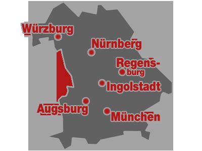 Das Bundesland Bayern