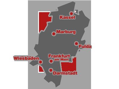 Das Bundesland Hessen