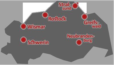 Das Bundesland Mecklenburg-Vorpommern