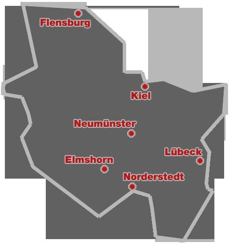 Das schöne Bundesland Schleswig-Holstein