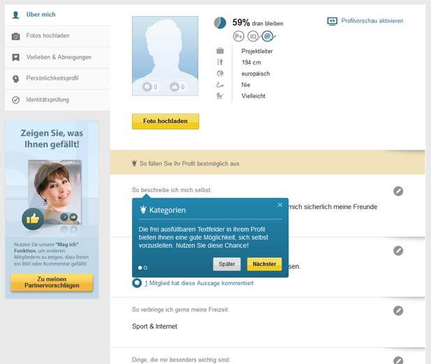 Edarling Profil ändern : im test die partnervermittlung in der detailanalyse ~ Bigdaddyawards.com Haus und Dekorationen