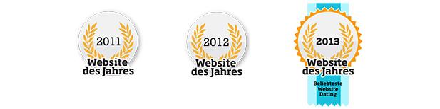 Finya wurde mehrfach als Website des Jahres ausgezeichnet