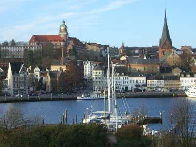 Flensburg - die Stadt am Wasser