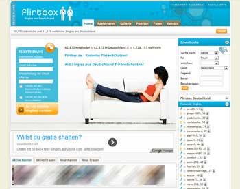 zur Flirtbox.de - Startseite