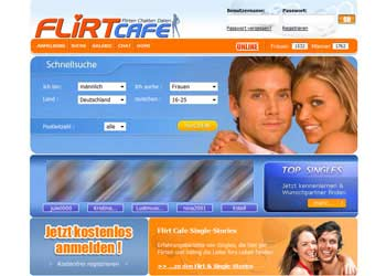 Flirten - Flirt Chat - Dating bei FlirtCafe
