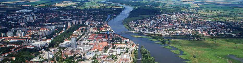 Ein Blick über Frankfurt (Oder)