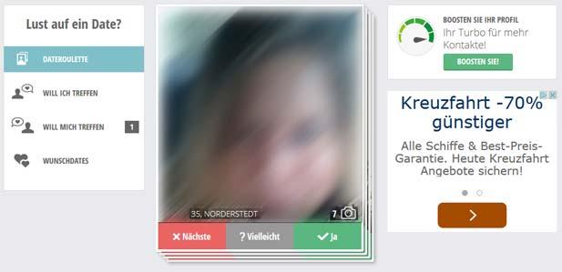 Mit dem FriendScout24 Spiel Dateroulette zum Flirt