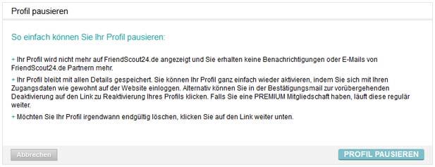 friendscout24 profil löschen https kostenlos