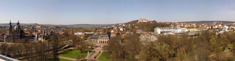 Die Stadt Fulda in Hessen