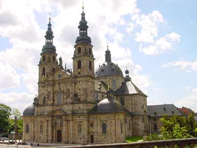 Der Dom St. Salvator zu Fulda