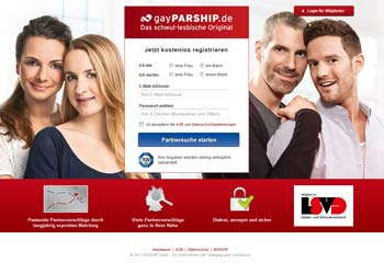 gayPARSHIP.de - Startseite