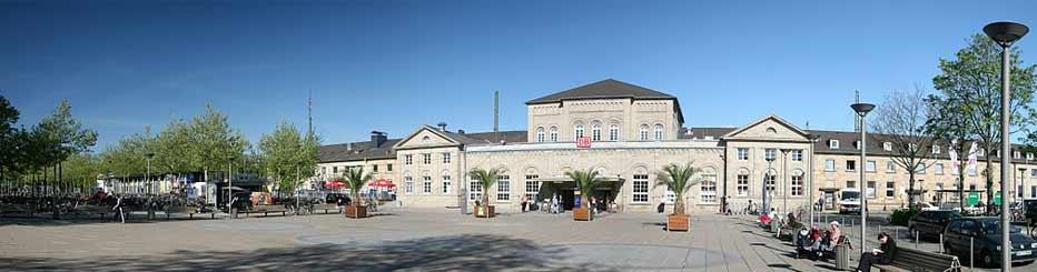 Der Göttinger Bahnhof