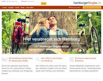 zur hamburgerSingles.de - Startseite