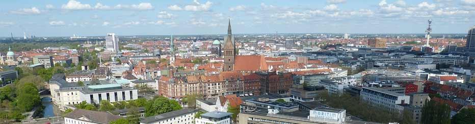 Die Landeshauptstadt Niedersachsens: Hannover