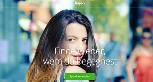 Die Flirt-App Happn hat eine neue Funktion an Bord: Das Versenden von Musik