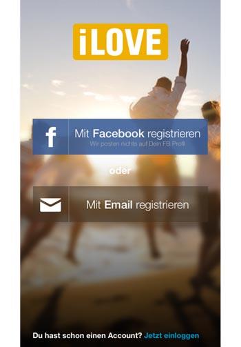 iLove.de - Startscreen