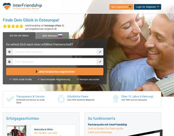 zur InterFriendship - Startseite