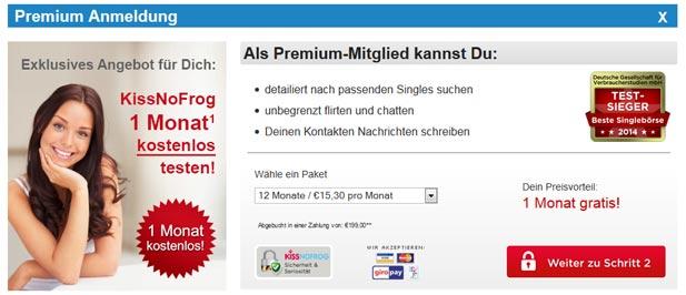 Der KissNoFrog Premium-Shop