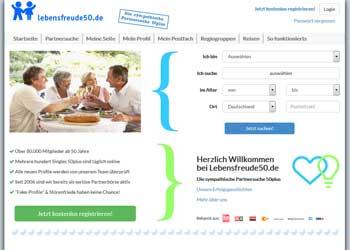 Hier klicken, um zur Startseite der Ü50 Singlebörse Lebensfreude50.de zu gelangen