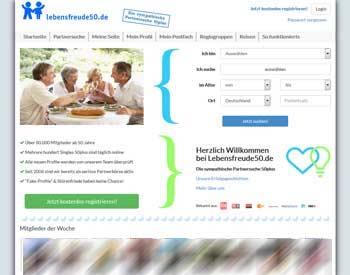 zur Lebensfreude50.de - Startseite