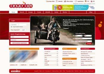 Auf zur LESARION - Startseite