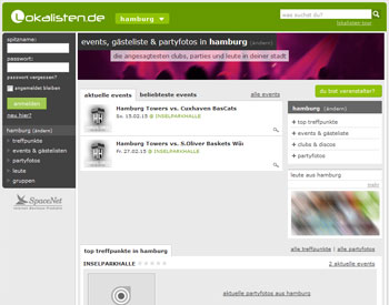 Ab zur Lokalisten.de - Startseite