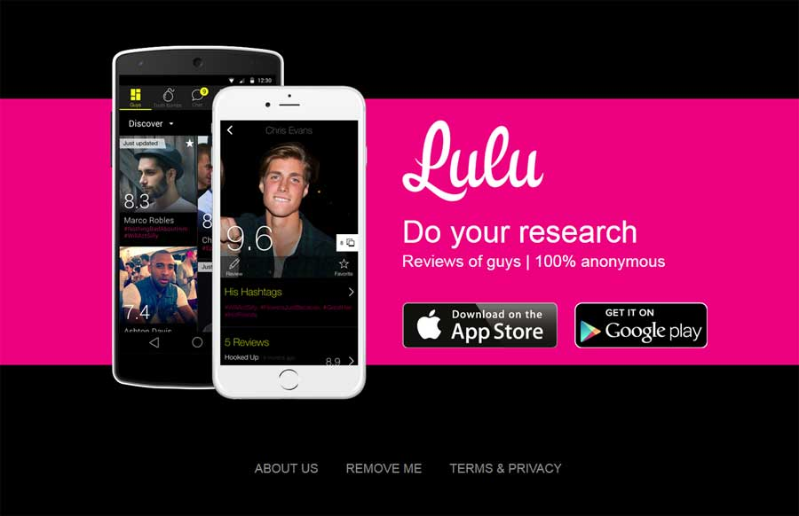 Die Dating-App Lulu