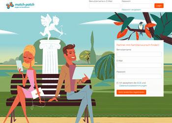 match-patch.de - Eine Singlebörse für alleinerziehende Singles