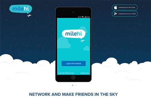 Mit MileHi lässt sich über den Wolken flirten