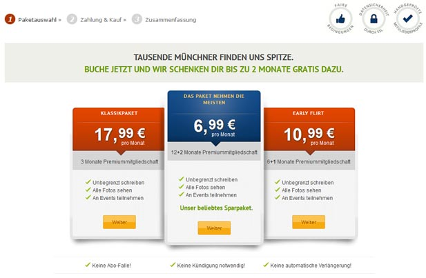 Singlebörse münchen kostenlos