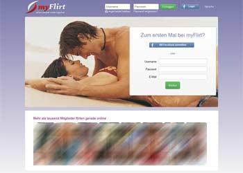 myflirt - Startseite