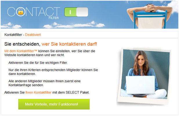 Entscheiden Sie bei NEU.de, wer sie kontaktieren darf