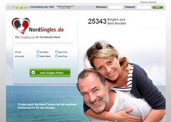 Zur Startseite der regionalen Singlesbörse NordSingles