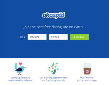 OkCupid - zum Anbieter