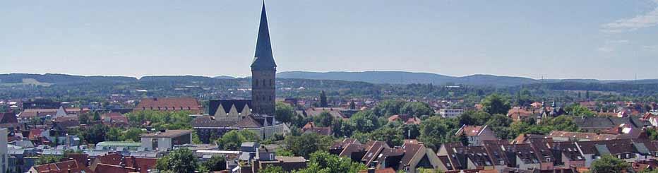 Die Großstadt Osnabrück