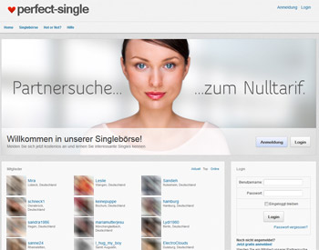 zur perfect-single.de - Startseite