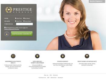 PrestigeSingles.de - Startseite