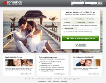 zur ROMANCE.de - Startseite