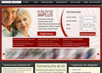 50plus Singlebörsen - hier geht es zu Romantik 50plus