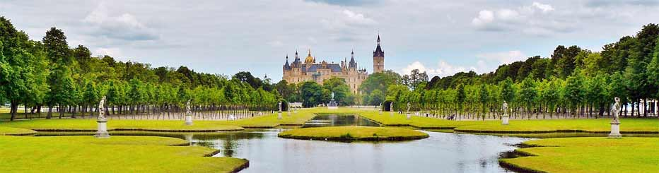 Das imposante Schweriner Schloss
