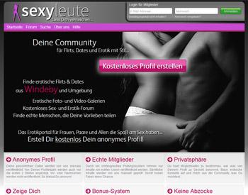 Auf geht es zur Startseite von SexyLeute.de