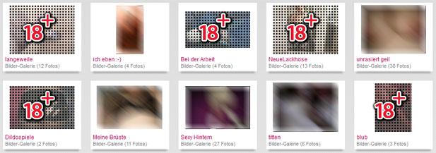 Hier gibt es was für die Augen: Die sexy Bildergalerien von SexyLeute.de