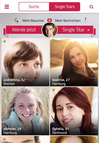 Dating-Website Tänzer